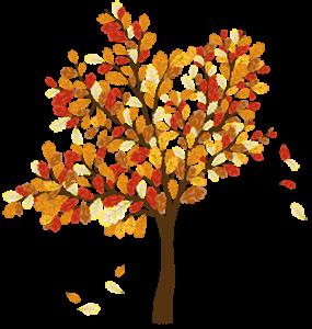 fall tree pulse