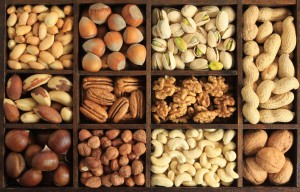 mixed nuts platter