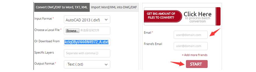 online pdf to dxf file converter