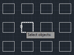 similar objects autocad