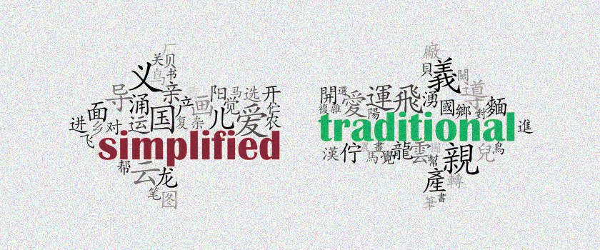 Difference between Simplified Chinese and Traditional Chinese.png