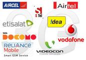 Telecom Recharge Options India