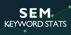 SEM Keyword Stats