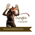 Gungan or Jar Jar Binks  Translator