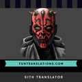Sith Translator