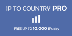 IP to Country PRO