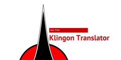 Klingon Translator