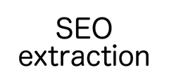SEO extraction