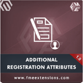 Magento Customer Registration Attributes  Extension by FME