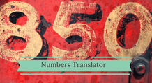 Numbers Translator