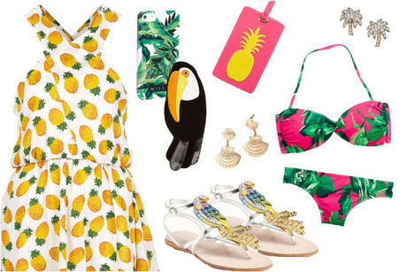 Tropical-fashion-spring-summer-vacation-dress-matchbook-magazine