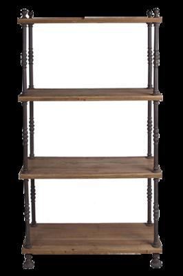 Wisteria-bookcase