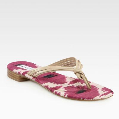 Manolo-blahnik-ikat-madeline-weinrib-thong-sandal