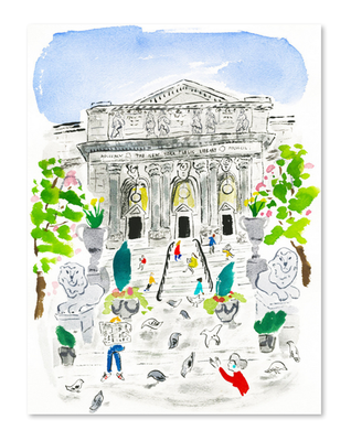 New-york-public-library-bella-foster-stampa