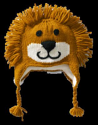 Hand-knit-animal-hat-lands-end-lion