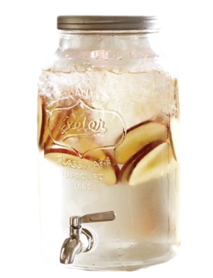 Mason_jar_drink_dispenser