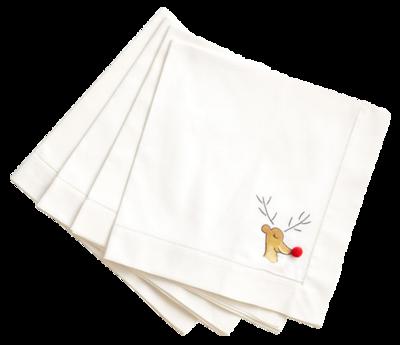 Wisteria-reindeer-cocktail-napkins