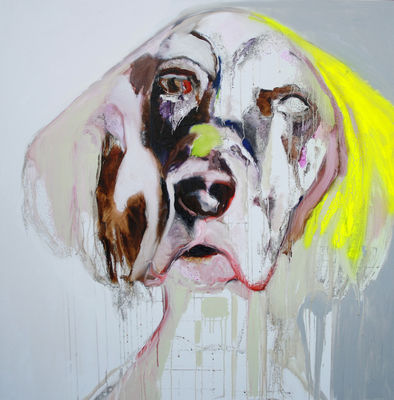 Yellow-dog-by-patricia-derks