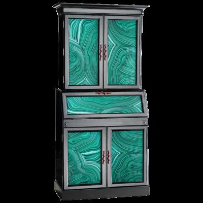Secretary-zinc-door