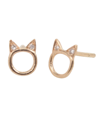Choupette-earrings-catbird