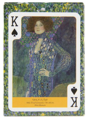 Klimt-playing-cards
