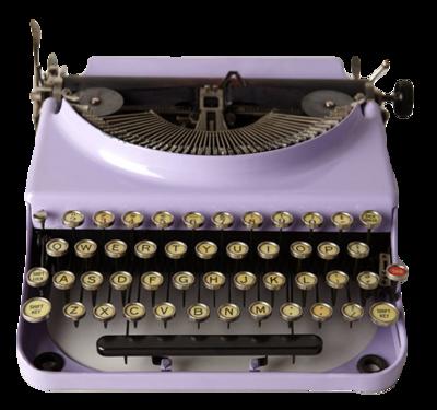 Typewriter-anthropologie