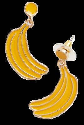 Banana-earrings