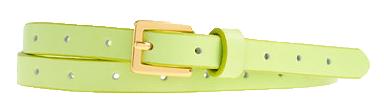 Skinny-leather-belt