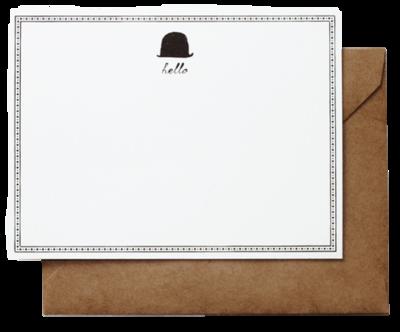 Stationery-letterpress