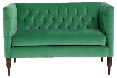 Tufted-settee