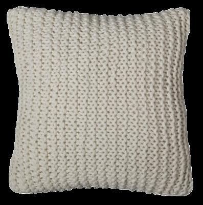 Chunky-knit-pillow