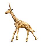 Giraffe-charm