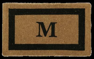 Monogram-doormat-pottery-barn