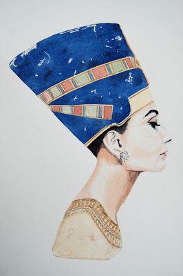 Nefertiti-at-tiffanys-saatchi-online