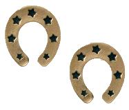 Horseshoe-earrings