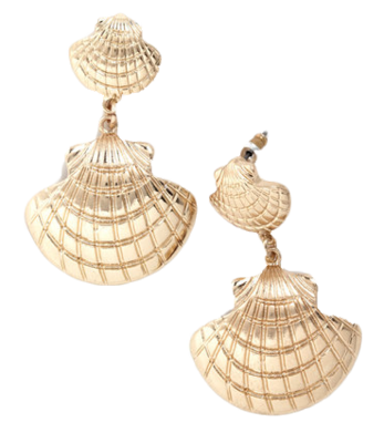 eb244d545 She Shells Seashell Earrings - Matchbook Magazine