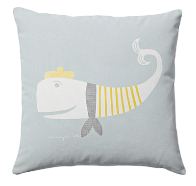Whale-pillow