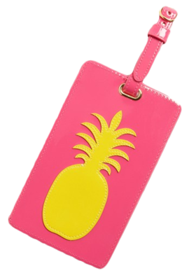 Lolo-pineapple-luggage-tag