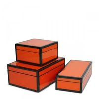 Orange-lacquered-boxes