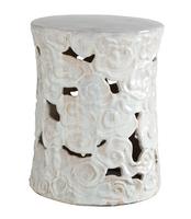 Ceramic-cumulus-stool-wisteria-white-garden-seat