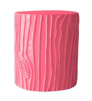 Stray-dog-designs-stool-accent-table-stump-pink-zinc-door
