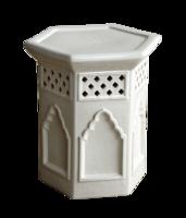 Moroccan-garden-stool-white-horchow