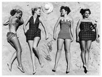 Models-sunbathing-art-dot-com