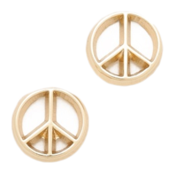 Peace-sign-stud-earrings-shopbop