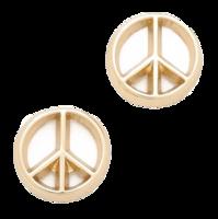 Peace-sign-stud-earrings-shopbop