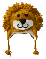 Hand-knit-animal-hat-lands-end-lion