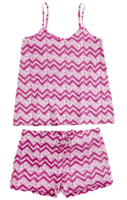 Chevron_short_pajama_set