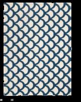 Scales-rug-zinc-door
