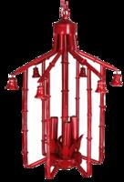 Pagoda-chandelier