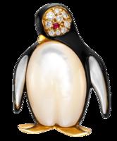 Penguin-brooch